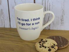 Mugs for runners – runner's logic