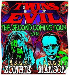 the second twins of evil tour 2018 jinak Poster