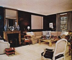 Kevin McNamara Brown Living Room The New York Times Book Of Interior Design And