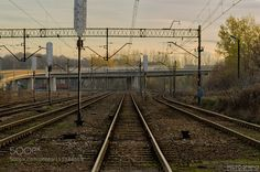 At the level crossing by Pictografio