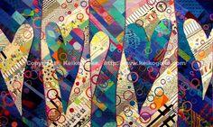 Heart Series VII by Keiko Goke