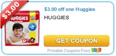Tri Cities On A Dime: SAVE $3.00 ON HUGGIES