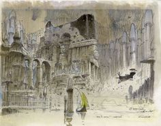 Image result for moebius ruins