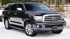 2016 Toyota Sequoia Front View