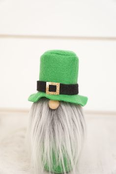 Green Leprechaun Gnome