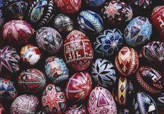 eastern european easter eggs