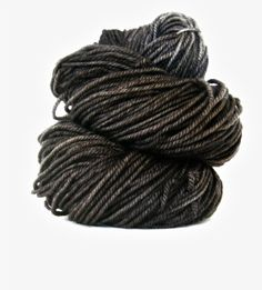 hand dyed...dark gray yarn~