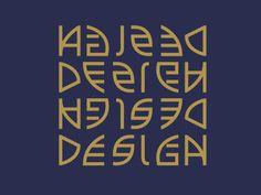 Avian Typeface by Junli Kato, via Behance