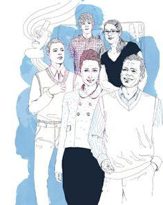Anne Cresci + Colagene, Illustration Clinic