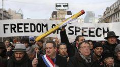 Un millón y medio de personas toman París al grito de «¡libertad!» - ABC.es