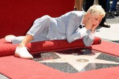 If you're ever selected to get a star on the walk of fame, you have to pay $30,000 to get it!