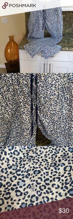 VS pajama pants VS leapord print pajama pants. 56%cotton 44% modal. Victoria's Secret Intimates & Sleepwear Pajamas