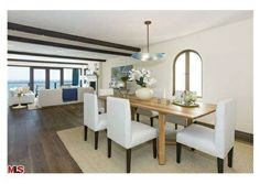 A quaint dining area. Malibu, CA Coldwell Banker Residential Brokerage