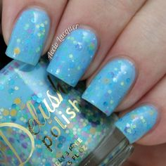 Delush Polish You Blue Me Away