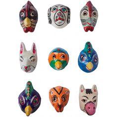 Animal Masks - Genuine Designer Furniture Lighting Accessories