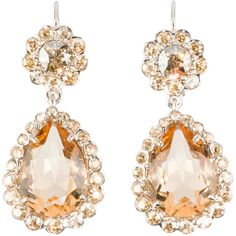 Miu Miu Earrings ($495) ❤ liked on Polyvore featuring jewelry, earrings, miu miu, gold, clip back earrings, clip earrings, swarovski crystal jewelry, nickel free jewelry and polishing gold jewelry