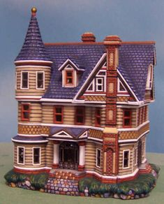 Ready to Paint Ceramic Bisque Eastlake House by 4CNCeramics, $22.00