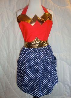 Wonder Woman apron