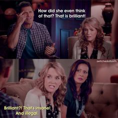 The difference with a mother and a father.Lol Switched At Birth