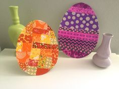 Easter Craft Ideas: How to Make a Scrap-Tastic Easter Egg With Your Kids | Seams And Scissors