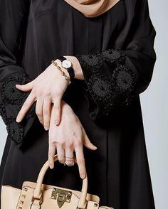 Details | Classic black #abaya @feradje