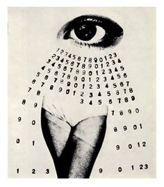 """http://www.nomad-chic.com/eyes-from-surrealism-to-sensory-solace.html """" We are never tired, so long as we can see far enough."""" ~Ralph Waldo #Emerson // Generous time by Sawada Shin'ichi, 1974"""