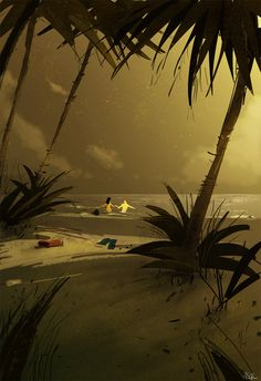 It is December in Hawaii too. by PascalCampion.deviantart.com on @deviantART