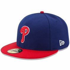 Men s Philadelphia Phillies New Era Royal Red Authentic Collection On-Field  59FIFTY Fitted Hat 8228c881f63c