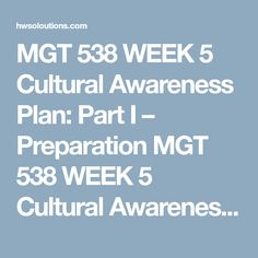 Mgt  Week  Training Program  Part Ii Mgt  Week  Training
