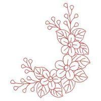 Hand Embroidery Patterns Free, Border Embroidery Designs, Embroidery Flowers Pattern, Hand Embroidery Stitches, Custom Embroidery, Ribbon Embroidery, Beaded Embroidery, Flower Patterns, Machine Embroidery Designs