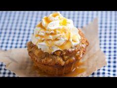 Apple Pie Cupcakes Recipe with Video