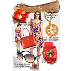 it's Tory Burch, don't you know, created by kathy-martenson-sanko.polyvore.com