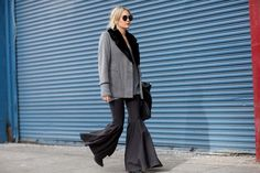 Day 5 via @WhoWhatWear the 70's are back Go Plazo and bells!