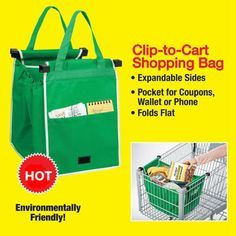 1 PCS Large Capacity Foldable Bags Supermarket Green Eco-friendly Shopping Bags Reusable Handbags - Gchoic.com