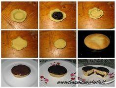FRUTTONI - Dolci salentini derivati dai pasticciotti, con un ripieno di marmellata e pasta di mandorle
