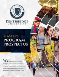 Kentsbridge University Masters Degree Prospectus  The prospectus of Kentsbridge University masters degree program.