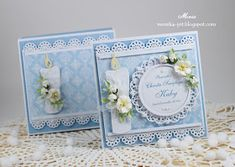 Baby Cards, Kids Cards, Baptism Cards, Baby Shower, Marianne Design, Cute Cards, Communion, Christening, Cardmaking