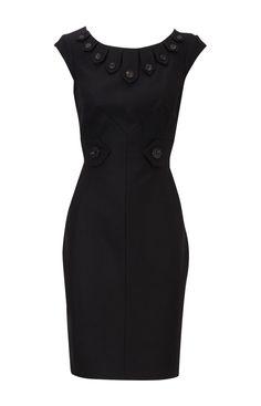 ba9b1a3592c8 Karen Millen All Over Tweed Dress Black