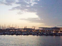 Un maravilloso amanecer, Puerto de Arrecife
