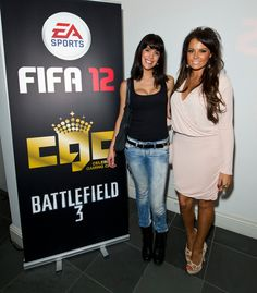 TOWIE's Jess Wright was among those in attendance at Celebrity Gaming Club's FIFA 12 Launch Party. Jess Wright, Battlefield 3, Launch Party, Attendance, Fifa, Gaming, Product Launch, Celebrity, Sports