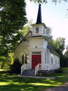 """""""Church in the Vale"""", Friend, NY photo by Glenda Nash; Finger Lakes Photos"""