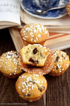 muffin yogurt e mirtilli