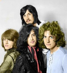 Led Zeppelin--in this one, tinted....