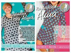 Set: Raglankleid Frau Alma und Alma  - Schnittmuster und Nähanleitungen bei Makerist sofort runterladen