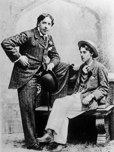 Premium Photographic Print: Anglo Irish Author Oscar Wilde and His Longtime Companion Lord Alfred Douglas : 24x18in