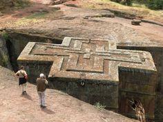 Lalibella - Saint George Church, Ethiopia