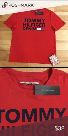 NWT Tommy Hilfiger Denim Red logo T. NWT Tommy Hilfiger Shirts Tees - Short Sleeve