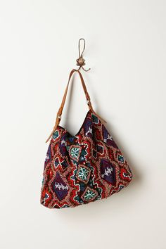 Beaded Bricolage Hobo