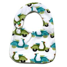 hand made Cotton baby dribble bib(scoot) £4.50