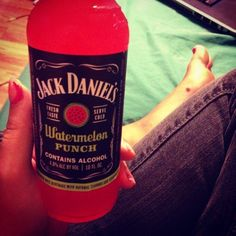 Jack Daniel's I want it Tedy Alcoholic Drinks, Beverages, Cocktails, Watermelon Punch, I Need A Drink, Jack Daniels Bottle, Hey Bartender, Party Drinks, Way Of Life